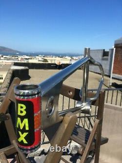 1980 Team Mongoose Supergoose old school vintage BMX 80's bike frame