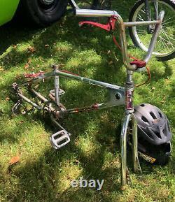 1983 Mongoose Expert Frame Californian Fork Set/Old School BMX Rad SR
