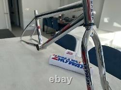 1983 Skyway TA Frame & Forks Chrome. Fabulous Condition Old School Bmx