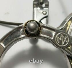 1984 Dia-compe Mx-900 Front And Rear Brake Assemblies Silver Old School Bmx