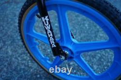 1984 Kuwahara Pantera Vintage Old School BMX Full Chromoly Frame Oval Downtube