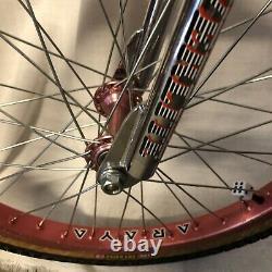 1985 BMX 20 Powerlite Frame Forks Bars Vintage Patterson Hutch VDC GT Oldschool