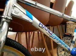 1985 Haro FST Freestyler Old School Bmx In chrome Rare! Not master/sport