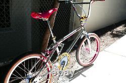 1987 Oldschool BMX GT Pro Series XL Chrome Bike 20