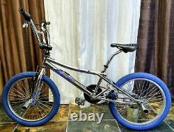 1990's Chrome GT Performer Old School Bmx Classic Bike Dyno 4130 Robinson Hutch