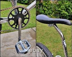 1994 AMMACO FREESTYLER 100% Chrome Lowrider BMX Old School Bike Haro GT Skyway