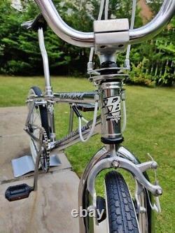 1996 DIAMONDBACK VENOM 100% Chrome Retro BMX Old School Bike Haro GT Skyway USA