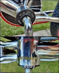 1998 POWERLITE HAVOC 100% Chrome BMX Old School Bike Haro GT Skyway Retro Rare