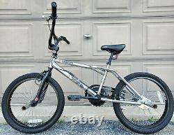 2001 DYNO Zone Mid New School BMX Bicycle Chrome GT Old Bike Freestyle Jumping