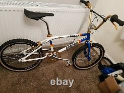 80s old school bmx RALEIGH TEAM AERO PRO BURNER REP, better than the real thing