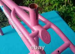 86 GT Performer, bubblegum pink. Old School BMX not a World Tour /Pro Performer