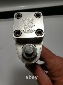 Early 1980's Tuff Neck Pro Model Silver Tiger Stamp Old School Bmx