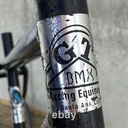 GT Old School BMX Frame Gary Turner 1976 76 Matchbox Santa Ana OG 70s Decals