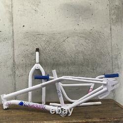 GT Pro Performer Old School BMX Freestyle 1986 Frame Set Bars Post Circle Stamp