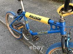 Genuine Phase 1 Mk1 Raleigh Blue Burner Old School Bmx, Genuine Barn Find