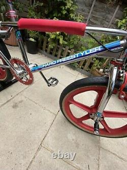 Haro Freestyler 83 Chrome Rare Old School BMX Skyway Dia Compe Redline Sugino