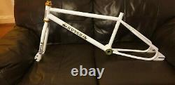 Hutch pro racer frame and forks 83. Old school bmx. Vintage bmx