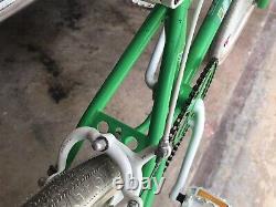 Kuwahara Bravo 1985 BMX Freestyle Old School Vintage Green Original Survivor
