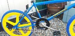 Mk2 Raleigh bmx Old School Bmx Raleigh burner Bicycle Retro Vintage Bike 1980s