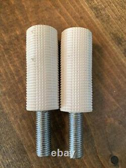NOS OLD SCHOOL SPINNER BIRD STAMPED PEGS 80s FREESTYLE BMX GT MONGOOSE HUTCH