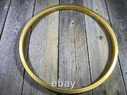 OLD SCHOOL BMX RIMS GOLD 20 x 1.75 ALESA ALLOY 20 INCH RIMS BELGIUM NOS 36H MX
