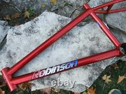 Old School 1994 Robinson SST BMX Frame, Red
