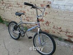 Old School 1994 Robinson SST BMX, Freestyle Bicycle, Chrome