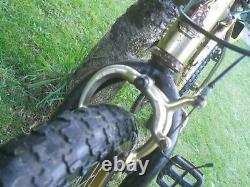 Old School BMX, Raleigh Super Burner Mk1 Original Parts & Restoration Project