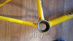 Old School Bmx 1979 Puch Challenger Lug Magnesium Alloy Frame Fork Vintage Rare