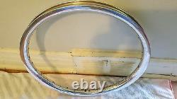 Old School Bmx Araya Aero Rim Polished 20x1.75 36 Hole Vintage Rare Htf