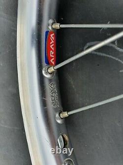 Old School Bmx Araya Aero Wheels with SR sealed bearing hubs