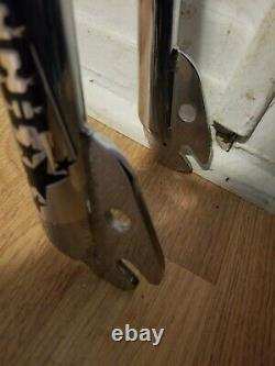 Old School Bmx Hutch Judge II Chrome Frame Fork Seat Clamp Headset Vintage Rare
