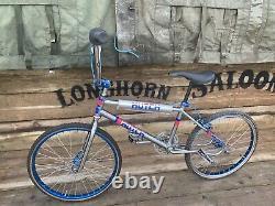 Old School Bmx Hutch Pro Racer Pre Serial Race Bike 1982 Chrome Araya Suzue Etc