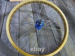 Old School Bmx MX Wheelset Weinmann 20 Inch Rims Maillard Hubs Nos 20 Wheels