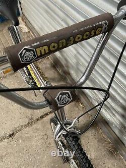 Old School Bmx Mongoose Supergoose 3 1984 Vintage Bmx