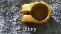 Old School Bmx Nos Suntour Seat Clamp 25.4 For 22.2 1 Gold Mongoose Vintage Are