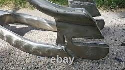 Old School MID School Bmx Mongoose Aluminum Californian Frame Forks Bar Vintage