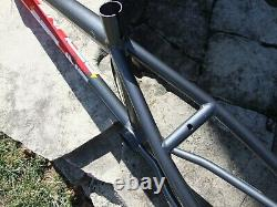Old School Redline 700 BMX Freestyle Bicycle Frame, 3/8 dropouts