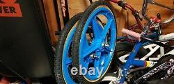 Old School chrome bmx haro zippo mid school bmx 20 bike NO OFFERS