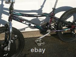 Old mid school GT performer bmx freestyle bike diacompe stealth mag 20 inch