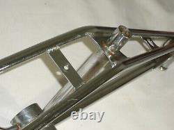 Old school 1979 Torker 20 inch bmx bike frame chrome