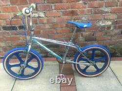 Old school BMX 1983 Haro Freestyler Ultimate RAD Skyways Vector Torker Built