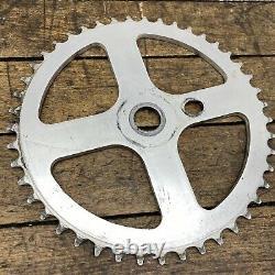 Old school BMX Redline Flight Sprocket 45t 45 Chain Wheel 401 80s Bubble Font
