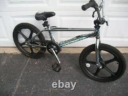 Old school Retro 2009 Haro Freestyler master 20 inch bike Skyway Tuff wheels bmx