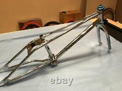 Original dp firebird freestyler old school bmx frame forks headset and pads