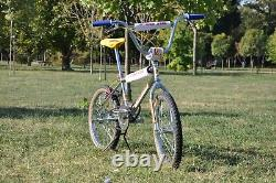Patterson Racing BMX PR200 bicycle 1983/1984 oldschool with Elina seat Tuf Neck