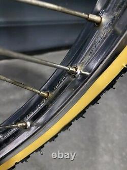 Raleigh Mk2 Black Burner In Totally Original VG Condition Old School 80s BMX