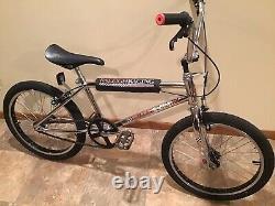 Raleigh Racing Old School 1983 Bmx 4130 Chrome Oakley Kk Viscount Bike Gt Dyno