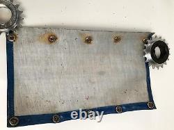 Rare 1970's Mongoose vinyl pad set Old School BMX DG Redline GT