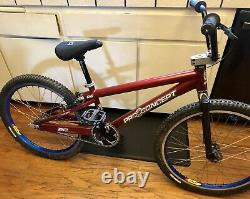 Rare Vintage Old School Bmx Mid School Pro Concept Bike Fully loaded